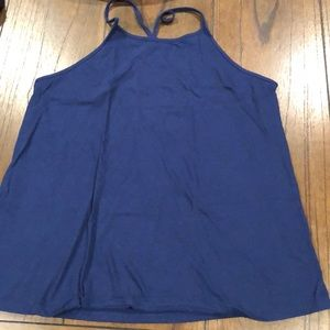 OLD NAVY blue tank top size small